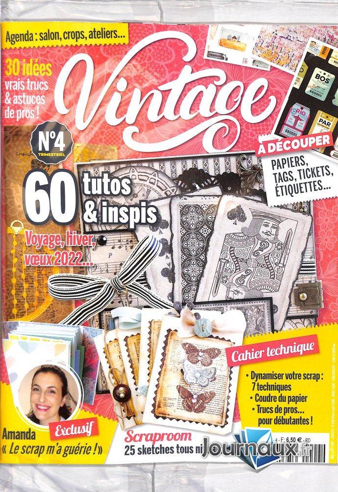 Atelier Scrapbook - Cartes & Scrap Vintage