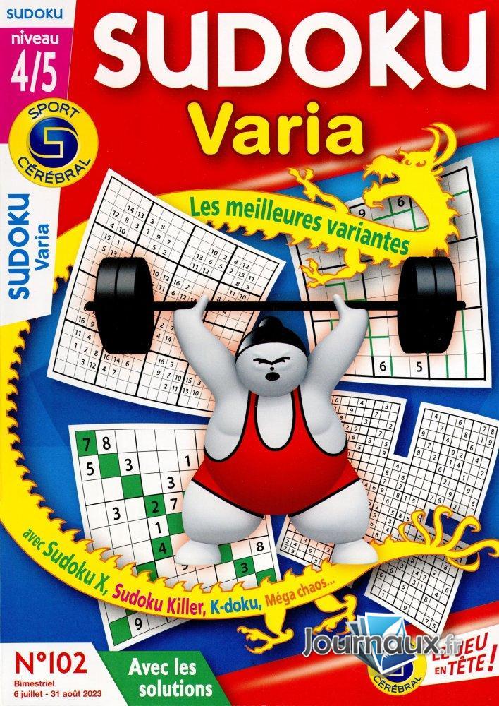 SC Sudoku Varia -  Niv 4/5