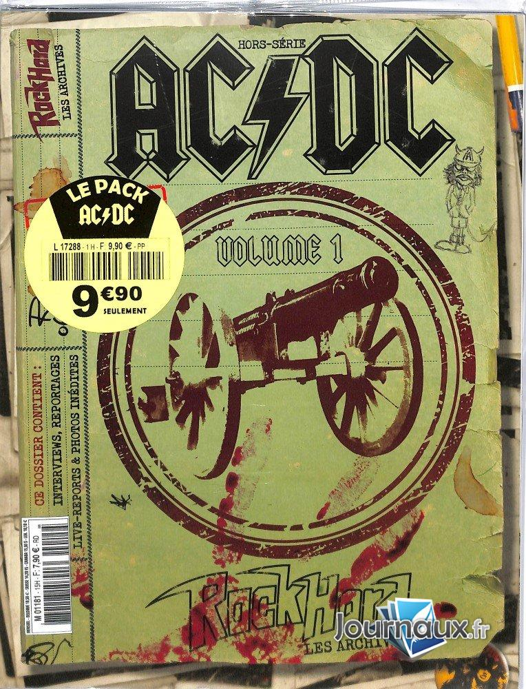 Rock Hard Pack 2 Magazines ACDC