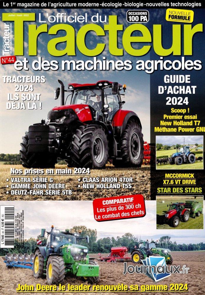 L'Officiel du Tracteur Et des Machines Agricoles