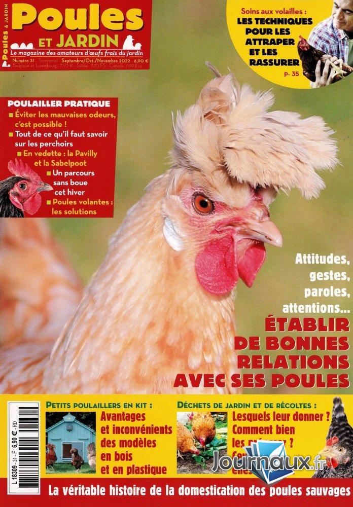 magazine Poule&Jardin L8309