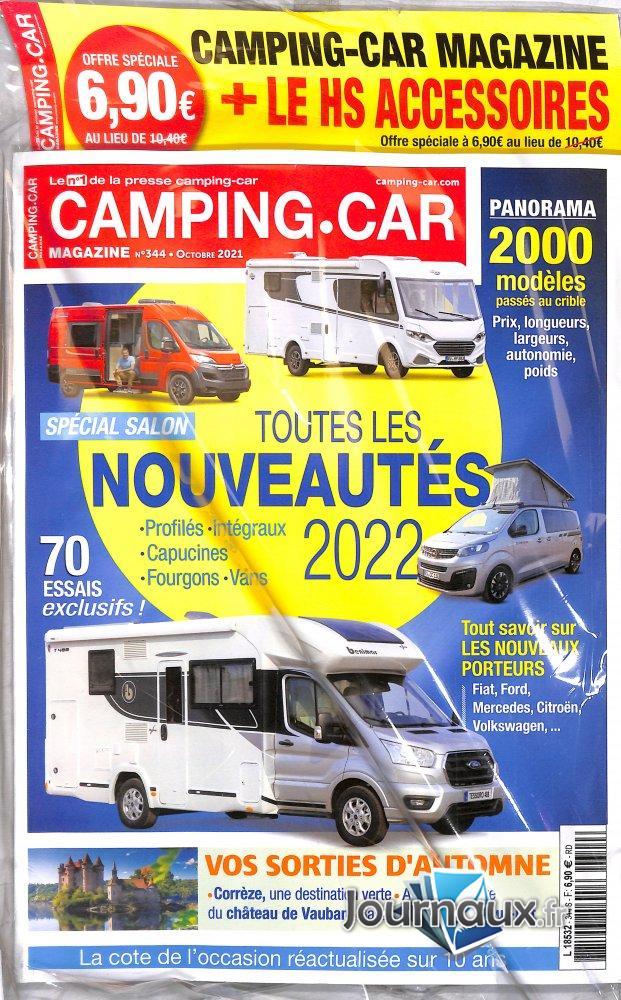Pack Camping-Car + Magazine