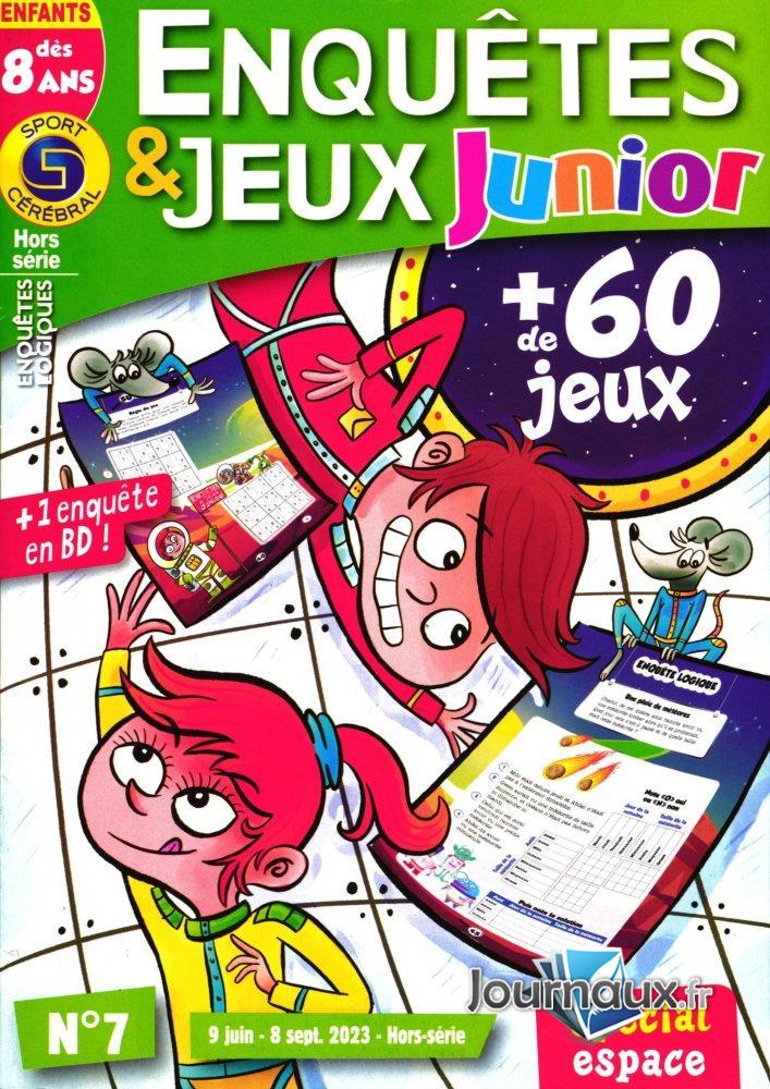 SC Enquêtes & Jeux Junior Dès 8 Ans