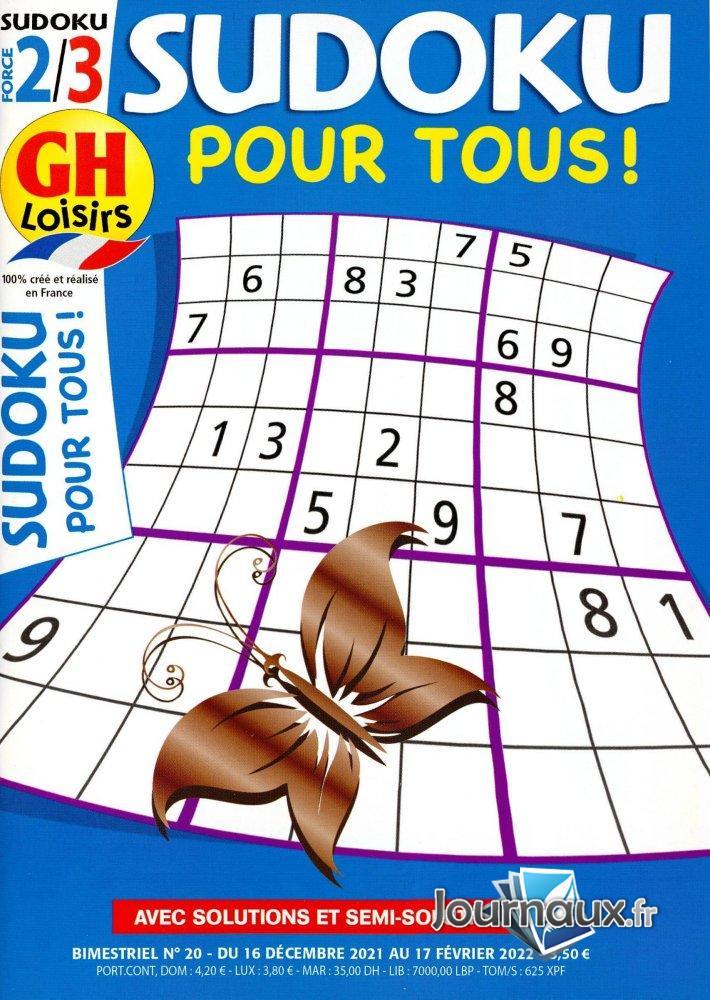 GH Sudoku pour Tous 2/3