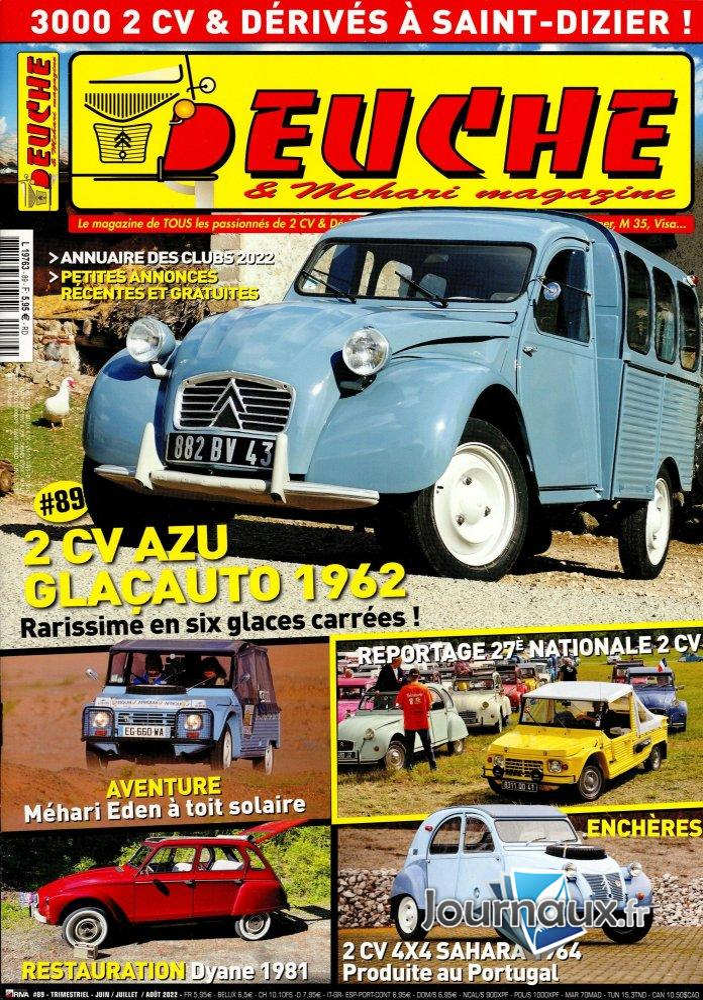 Deuche & Mehari  Magazine