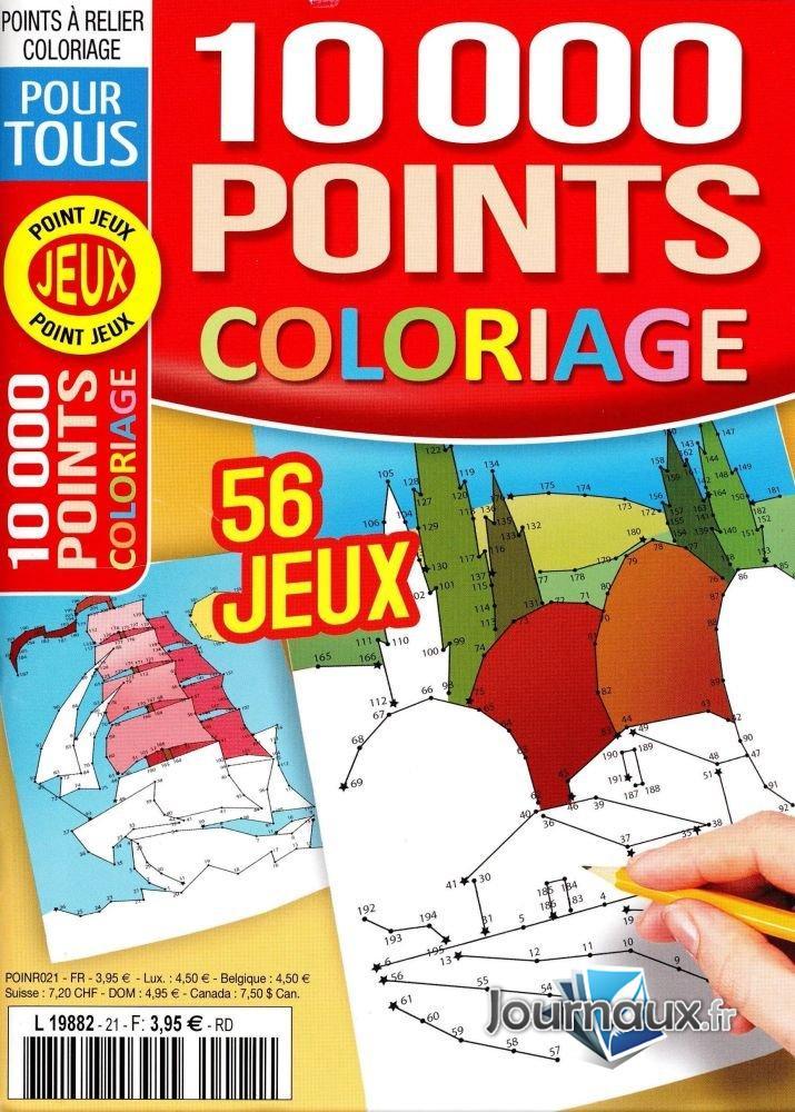 PJ 10 000 Points Coloriage