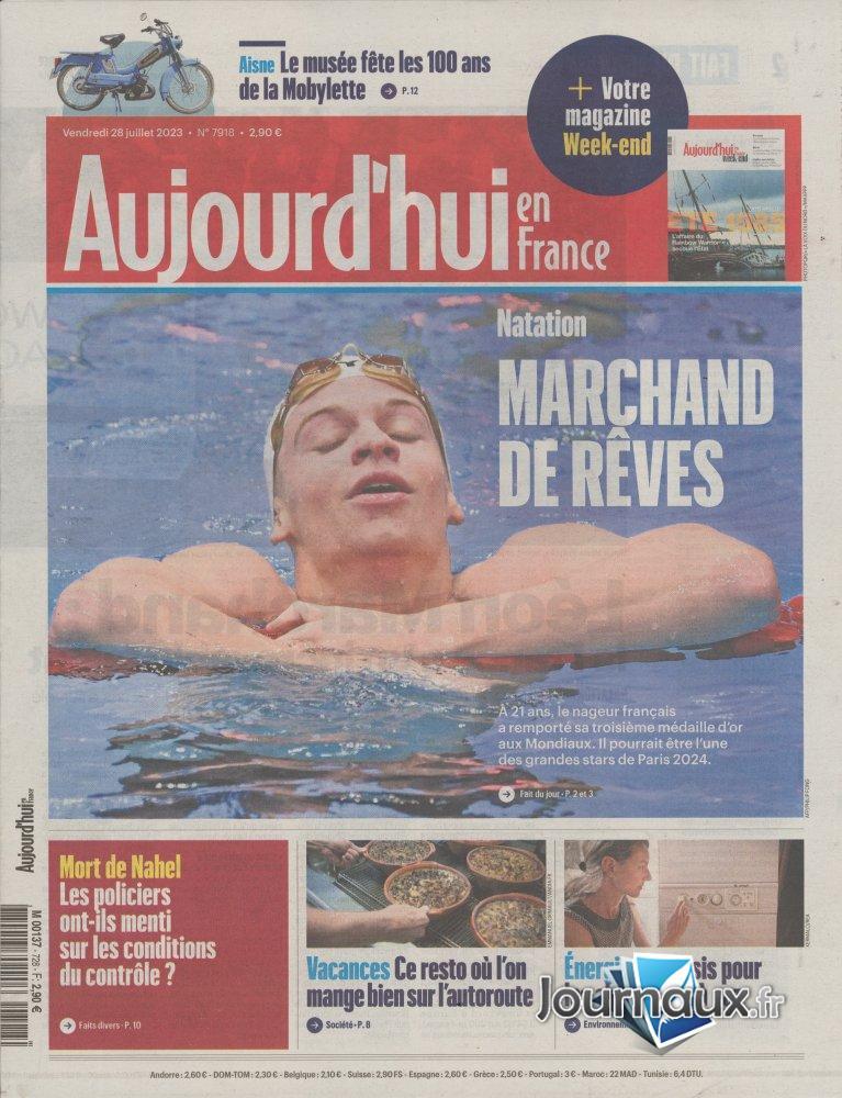 Aujourd'hui en France Week-End