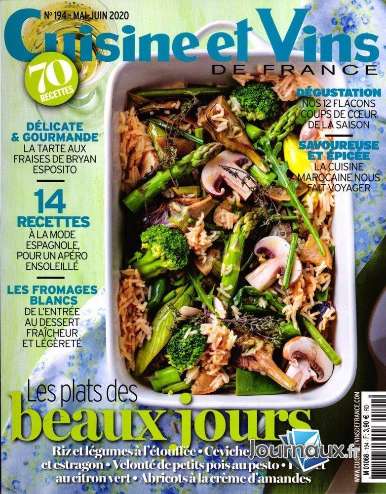 Www Journaux Fr Cuisine Et Vins De France