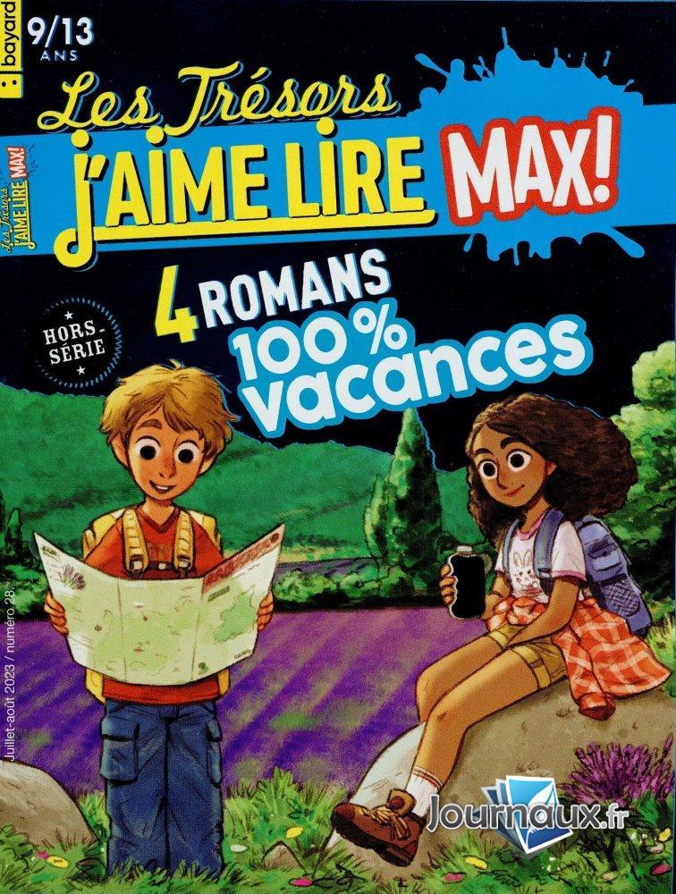 Les Trésors de J'aime Lire Max