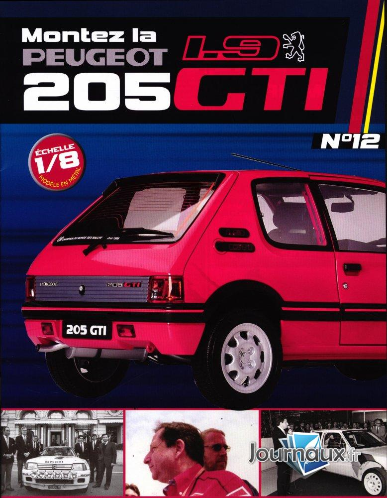 Construisez la Mythique Peugeot 1.9 205 GTI Sets de Montage 33-34-35-36