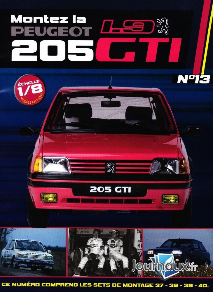 Construisez la Mythique Peugeot 1.9 205 GTI Sets de Montage 37-38-39-40