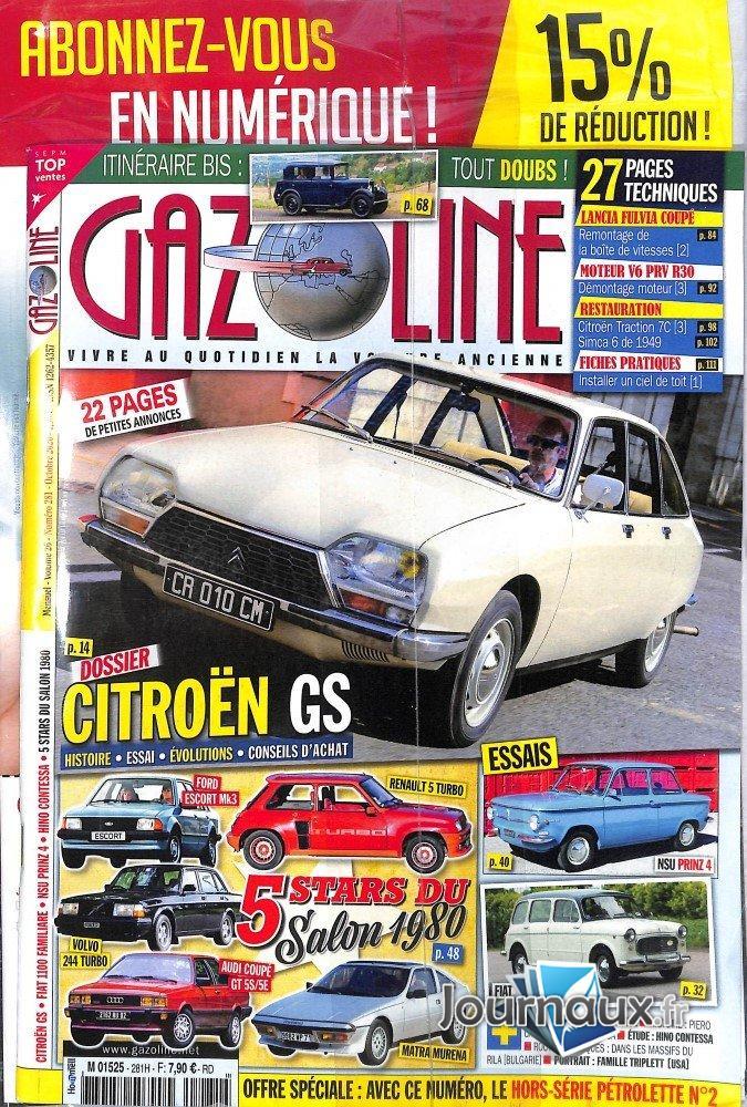 Gazoline + Livre