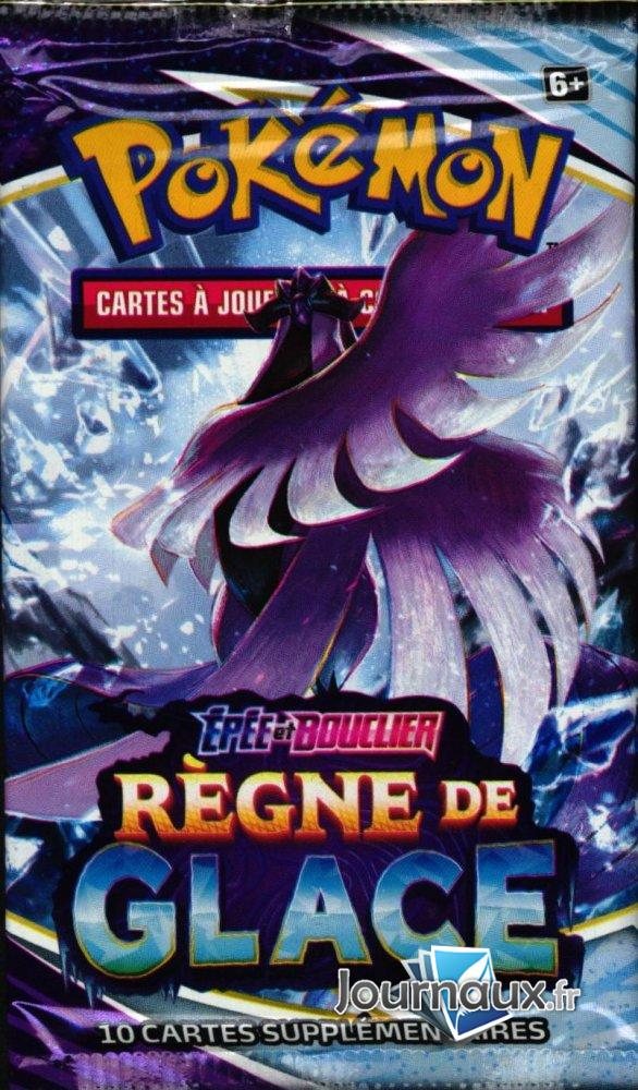 Booster Pokemon Epée et Bouclier Règne de Glace