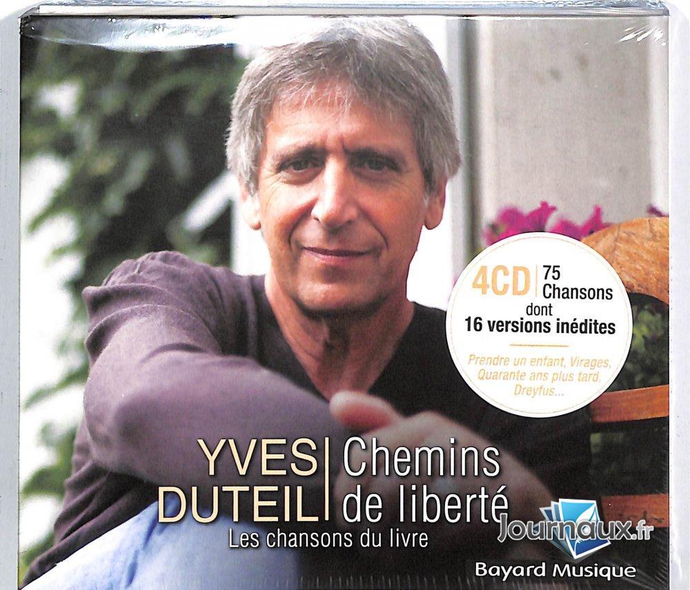 Yves Duteil - Chemins de Liberté 4 CDs