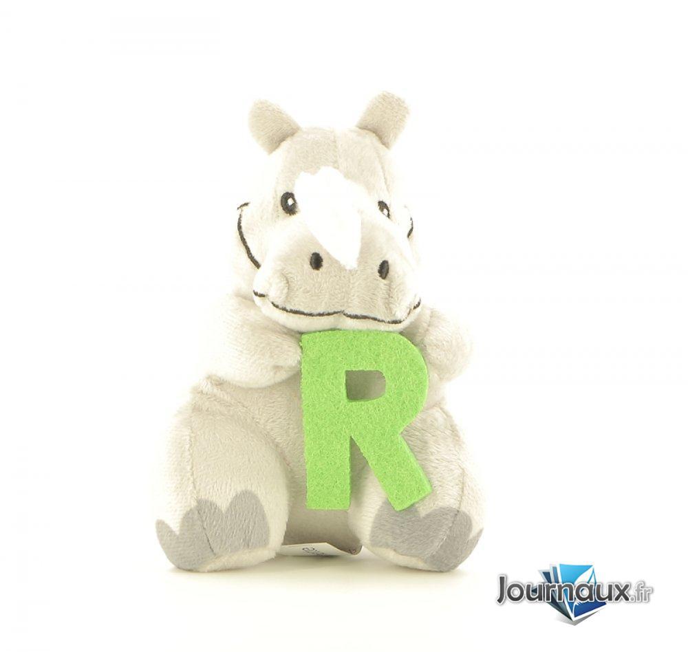 Découvre le R avec Raoul le Rhinocéros