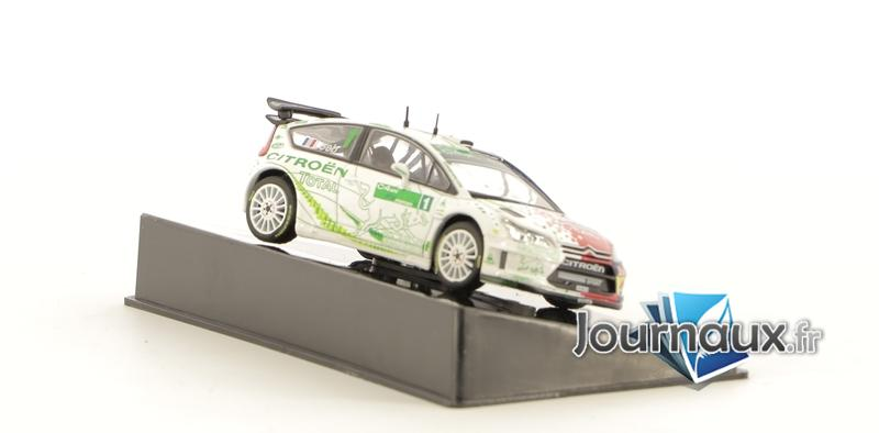Citroën C4 WRC HYmotion Test 2008