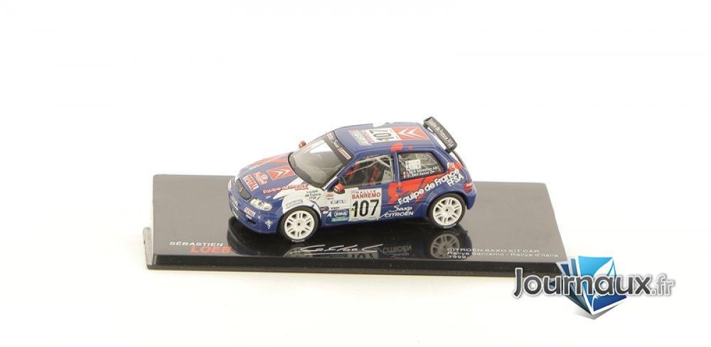 Citroën Saxo Kit Kar - Rallye de San Remo - Rallye D'Italie 1999