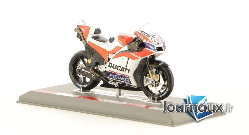 Les Motos GP 1/18e - Ducati Desmosedici GP17 - Andréa Dovizioso