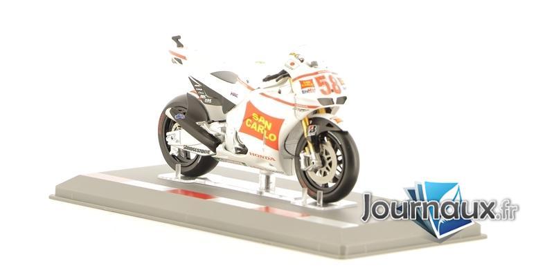 Les Motos GP 1/18e - Honda RC212V - Marco Simoncelli 2011