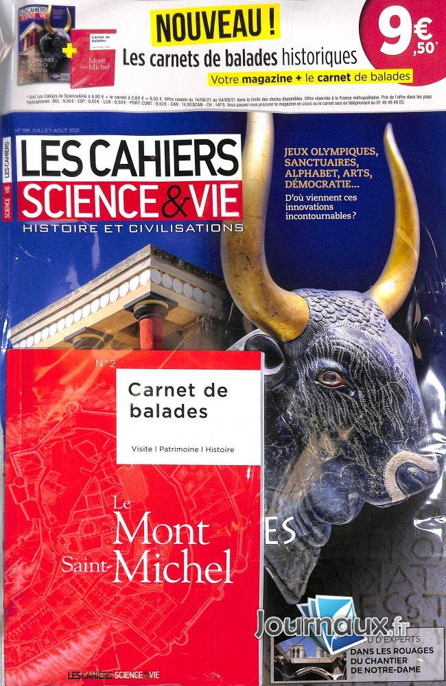 Les Cahiers Science & Vie + Carnet