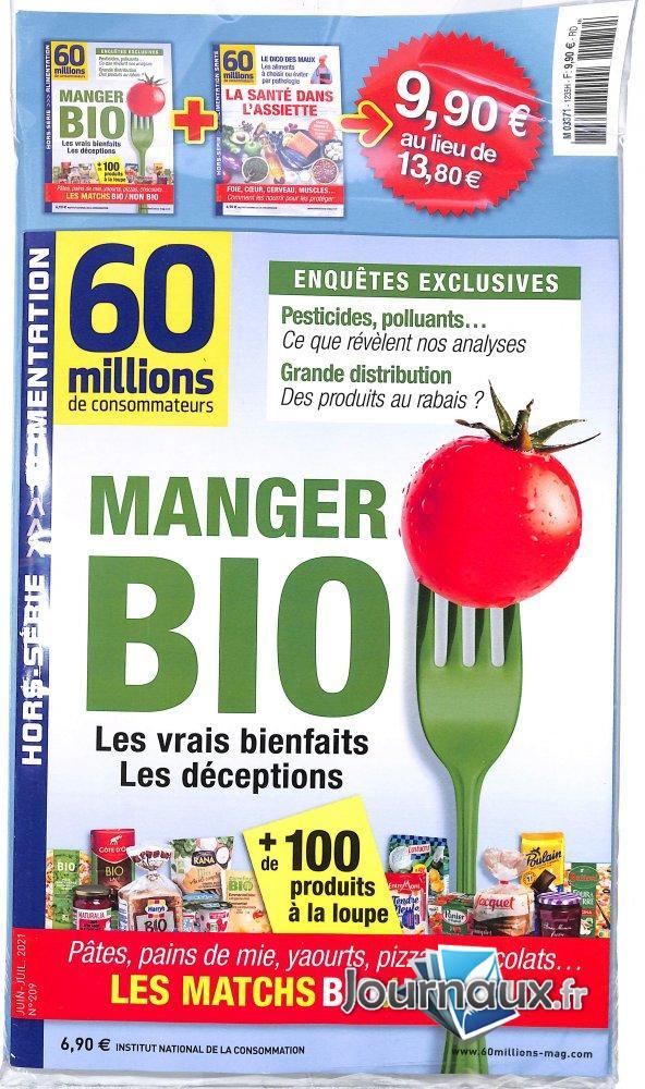 60 Millions de Consommateurs Hors-Série + Magazine Supplémentaire