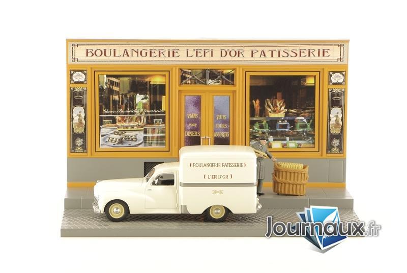 Fourgonette Tôlée Peugeot 203 - La Livraison Du Boulanger