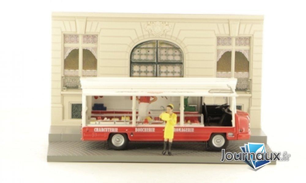 Le Vendeur Ambulant Dans Son Camion Sovam Etalmobil