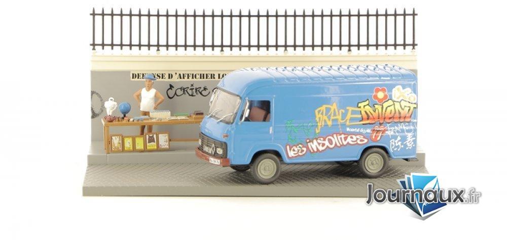 L'Antiquaire et Son Camion Saviem SG2