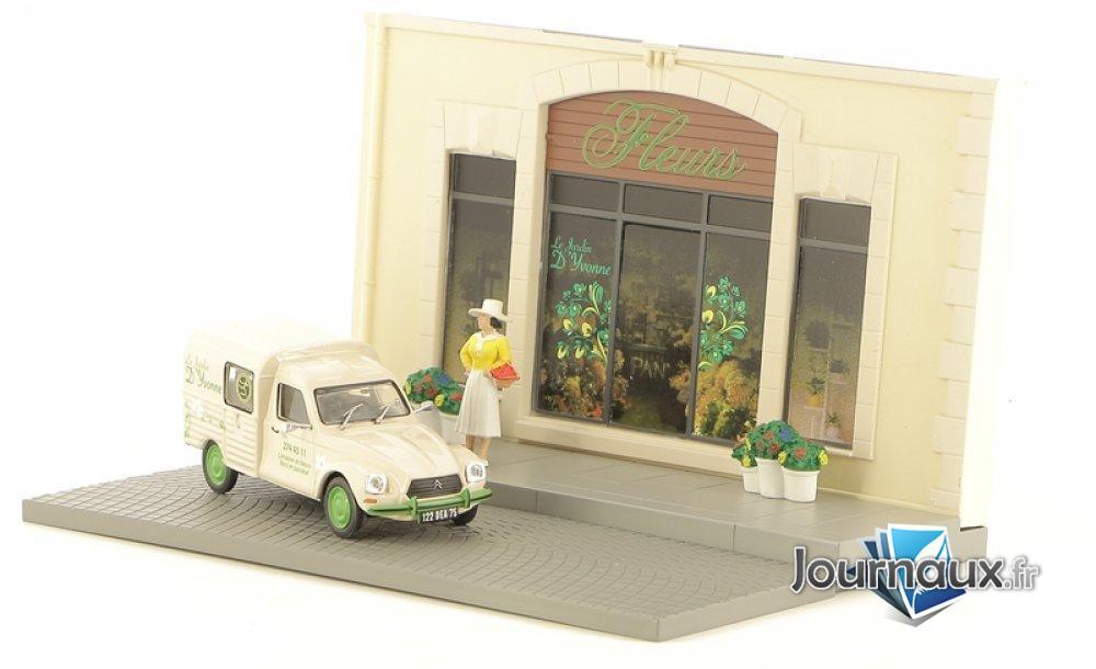 La Fleuriste et sa Citroën Acadiane