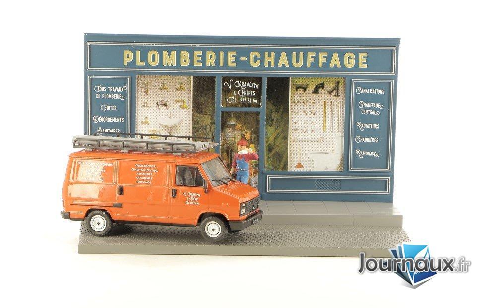L'Intervention du Plombier dans son Citroën C25