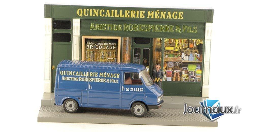 Le Quincailler dans son Citroën C35
