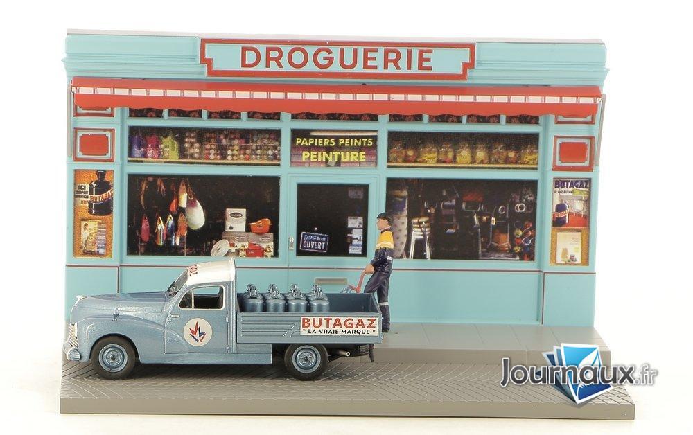 Le Livreur de Bouteilles de Gaz dans sa Peugeot 203 Pick-Up