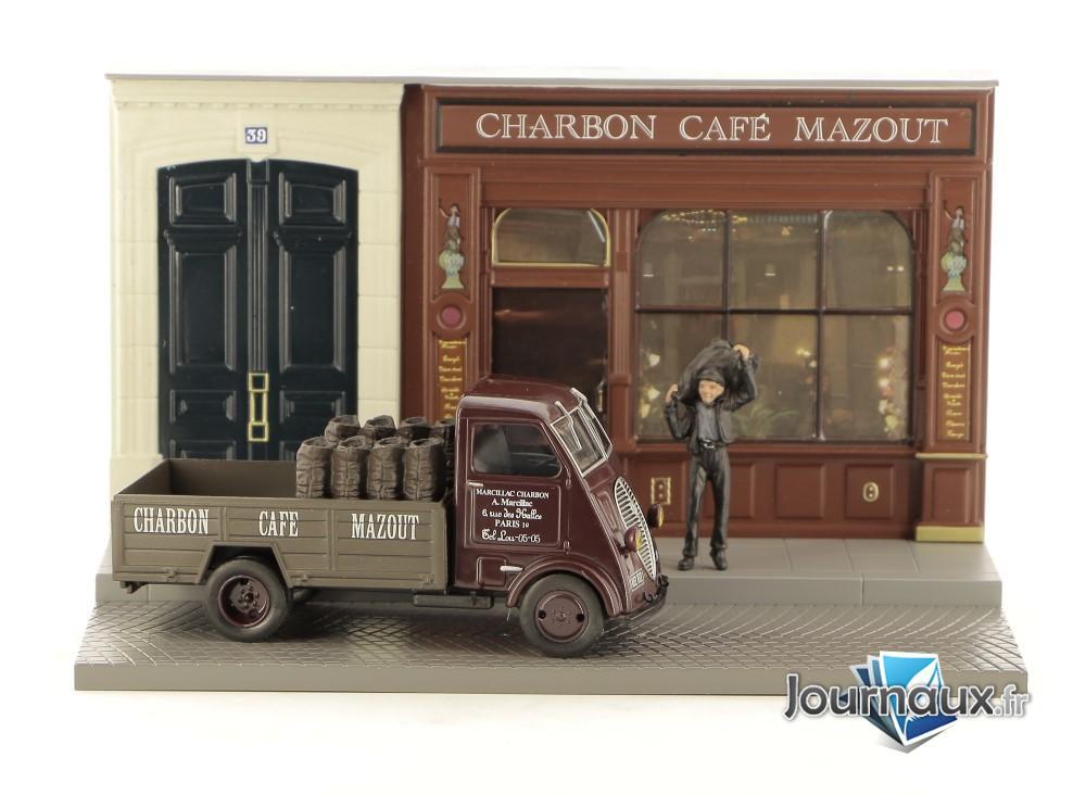Peugeot DMA - La Distribution Quotidienne Du Livreur De Charbon