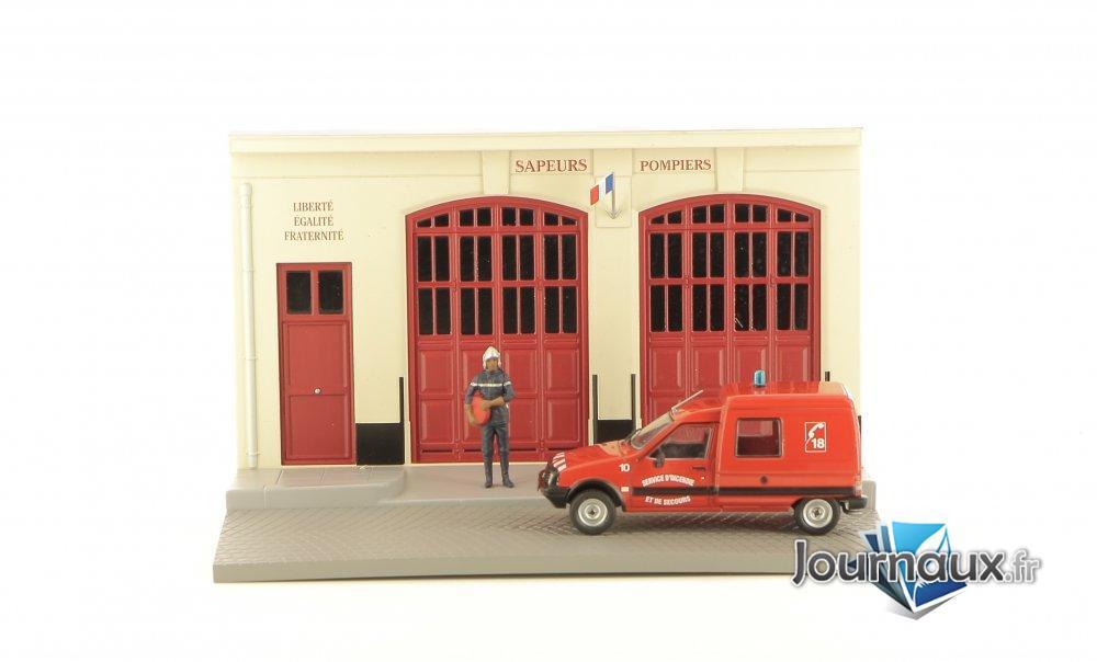 Le Pompier et son Citroën C15