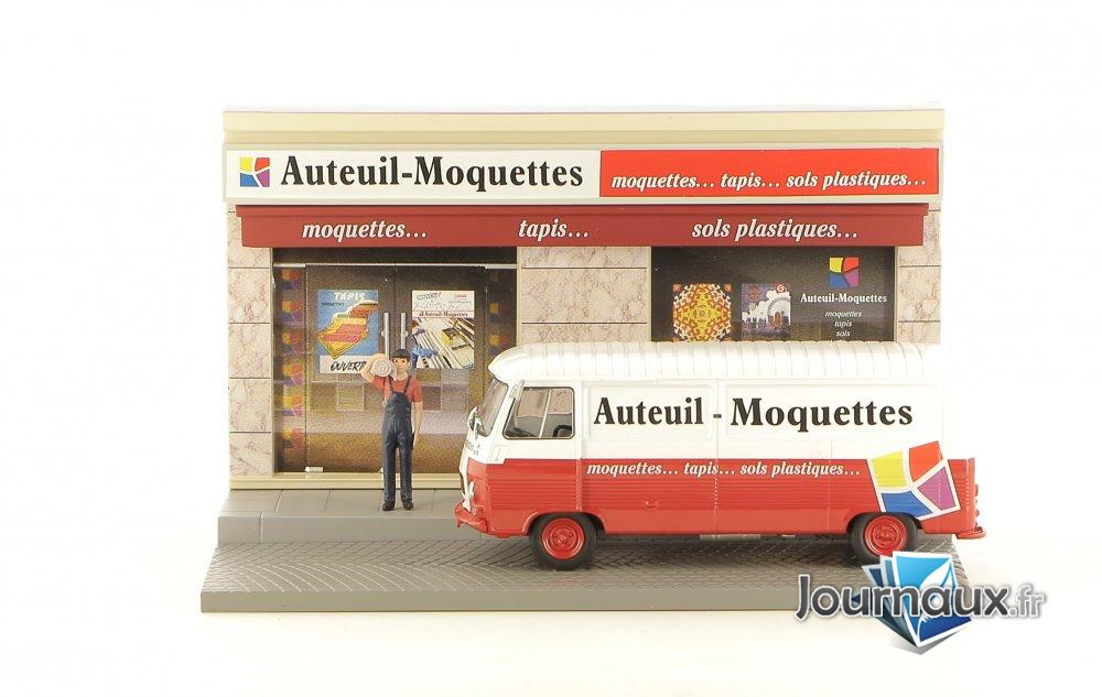 Le Vendeur de Moquettes et Tapis et son Peugeot J7 Long