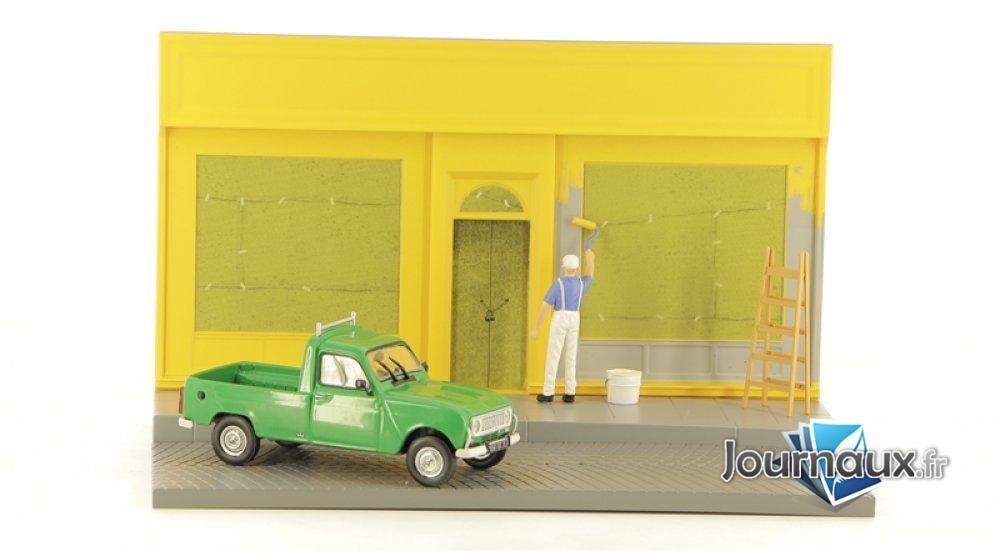 Renault 4L - Le peintre