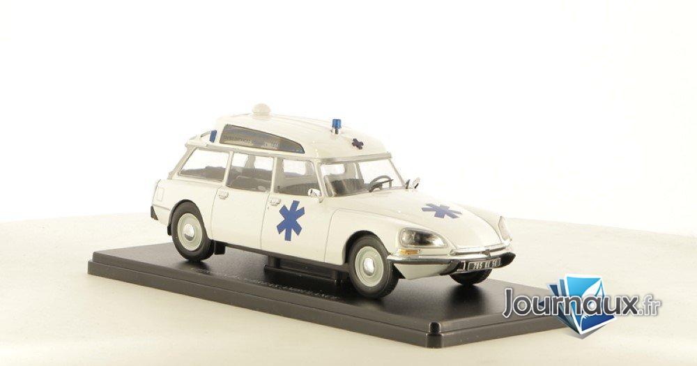La DS Break Ambulance - Transports sur Coussins D'Huile
