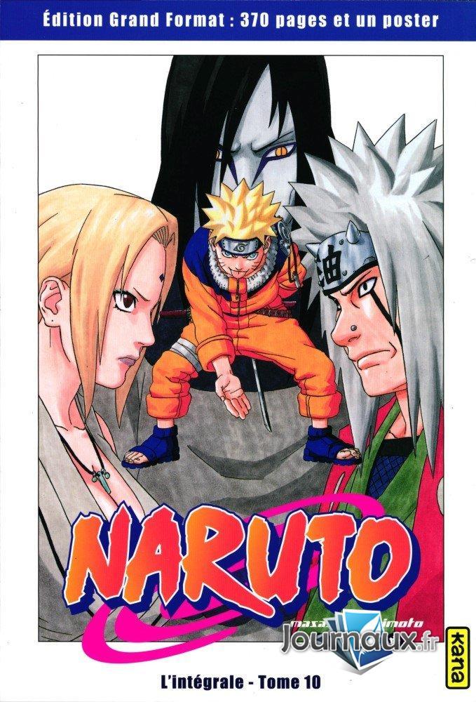 Naruto L'Intégrale Tome 10