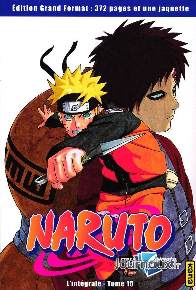 Naruto L'Intégrale Tome 15