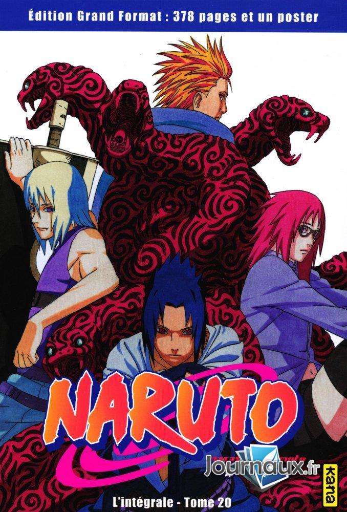 Naruto L'Intégrale Tome 20