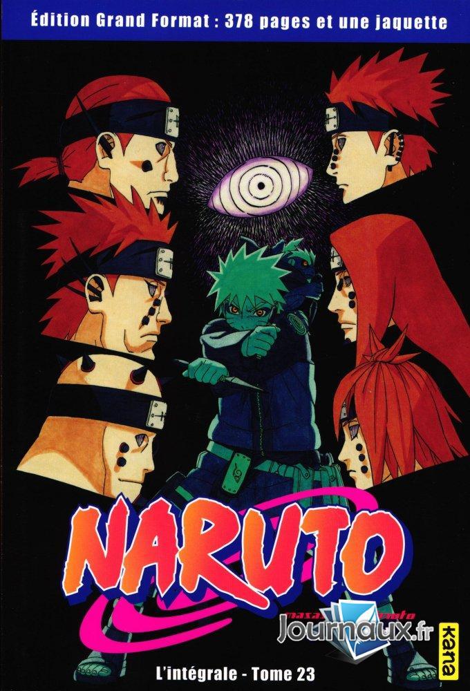 Naruto L'Intégrale Tome 23