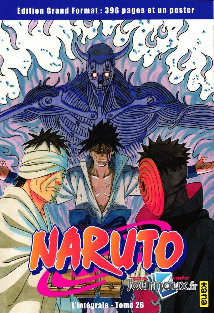 Naruto L'Intégrale Tome 26