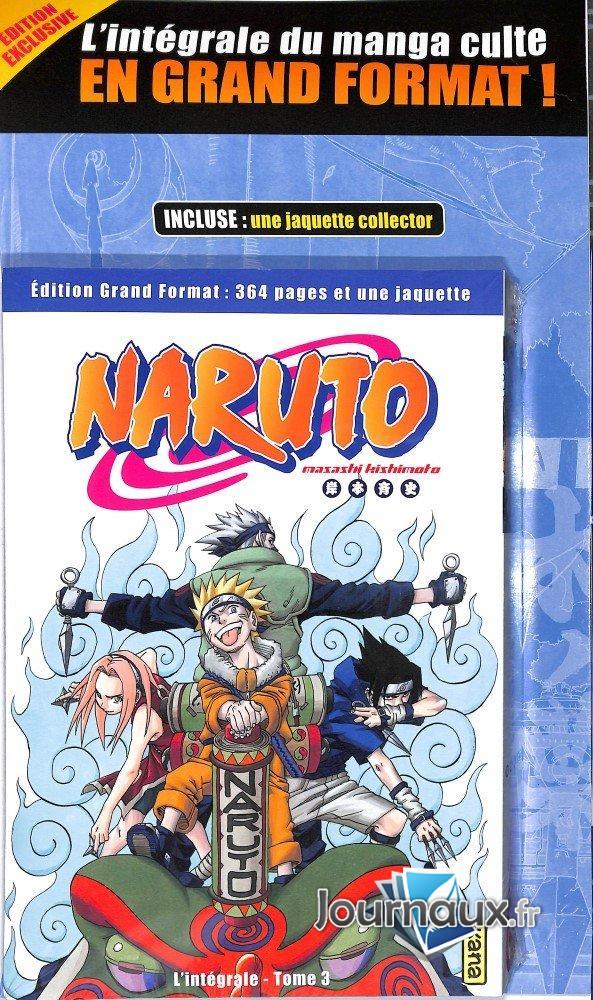 Naruto L'Intégrale Tome 3