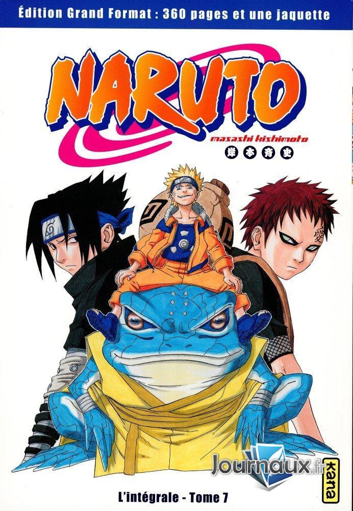 Naruto L'Intégrale Tome 7