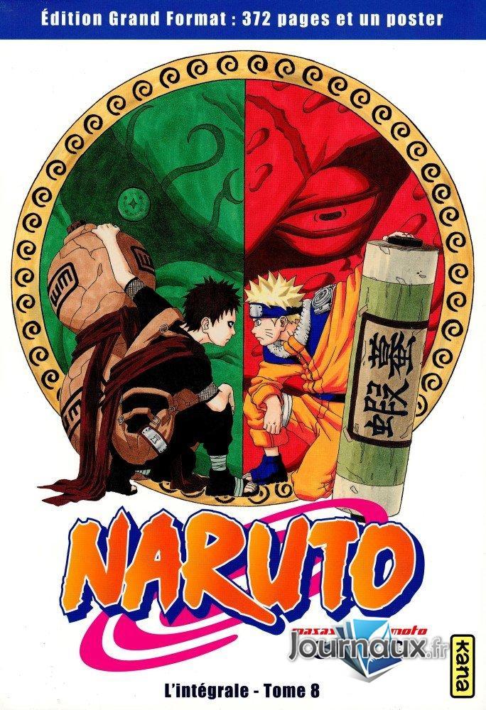 Naruto L'Intégrale Tome 8