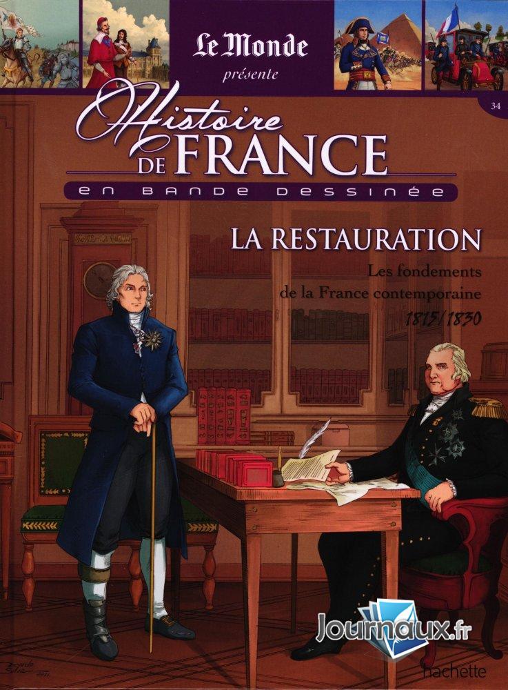 1815-1830 - La Restauration - les Fondements de la France Contemporaine