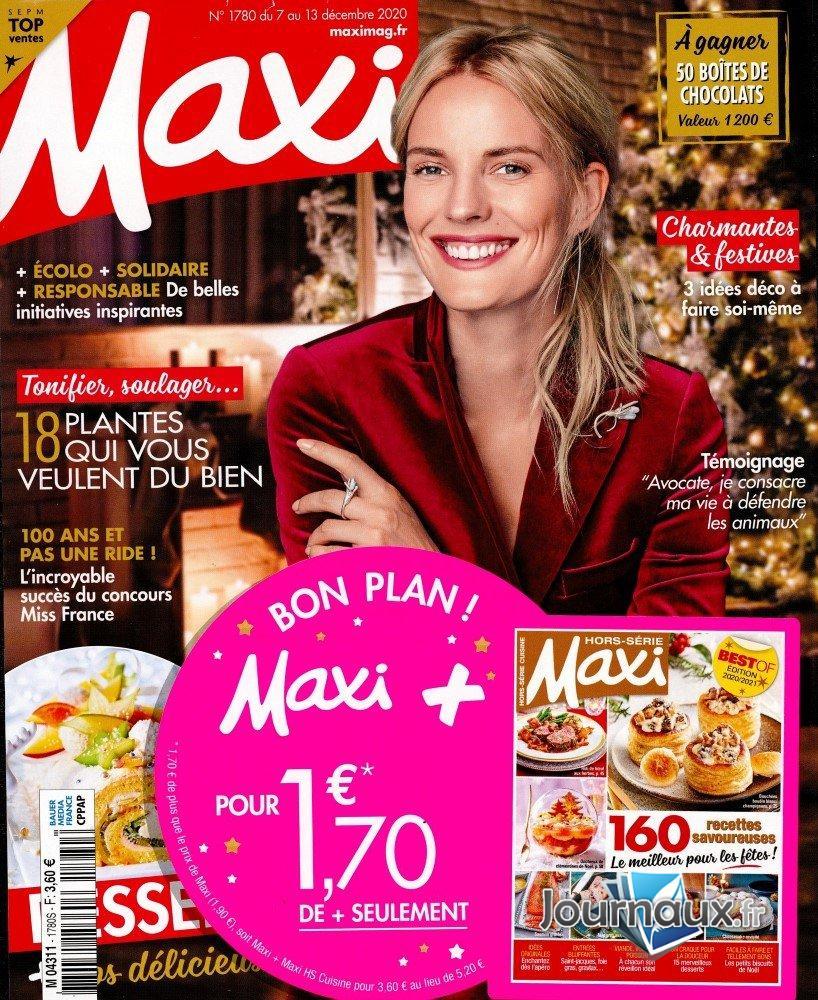 Maxi + Maxi Hors-Série Cuisine