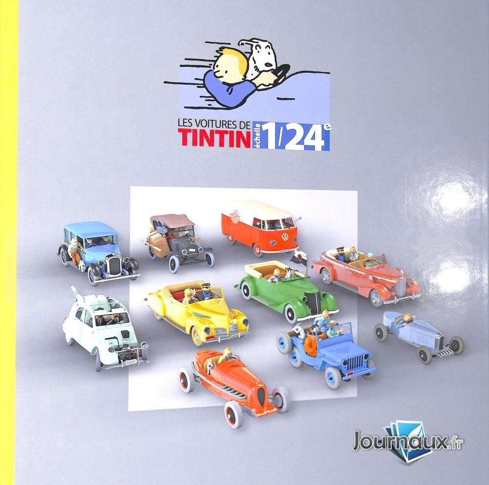 Classeur Voiture Tintin