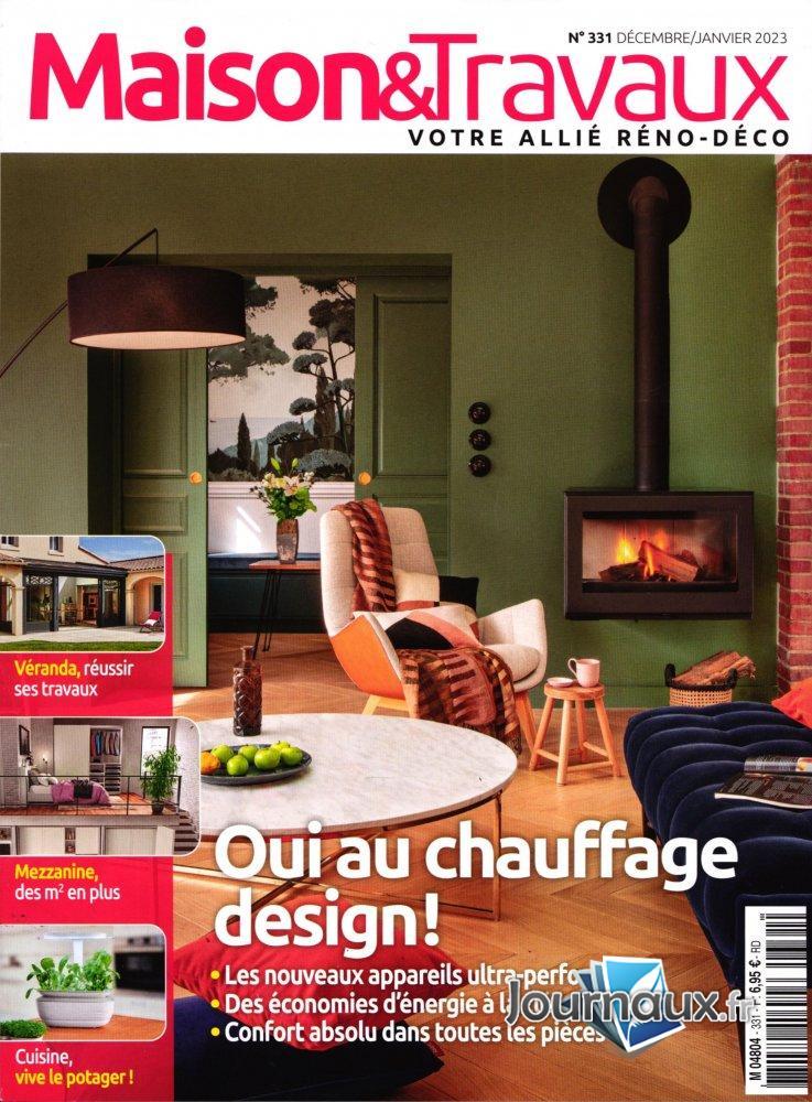 Maison & Travaux + un livre