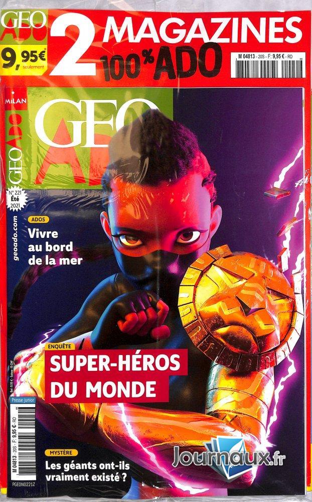 Géo Ado 2+ Géo Ado Hors Série